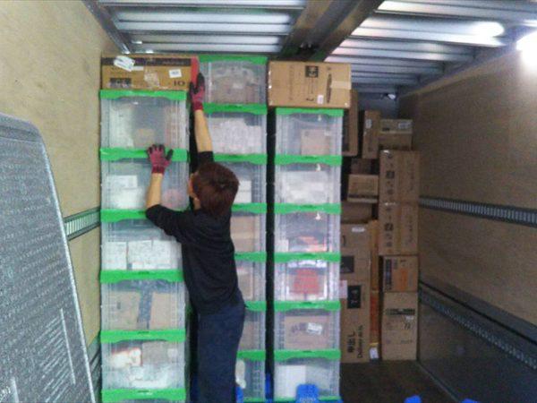 雑貨や衣類などの配送・集荷